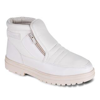 Hrejivé zimné topánky biele