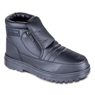 Hrejivé zimné topánky čiernej