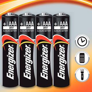 Alkalické batérie Energizer 4x AAA