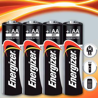 Alkalické batérie Energizer 4x AA