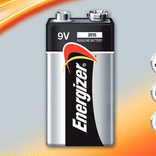 Alkalická batéria Energizer 9V