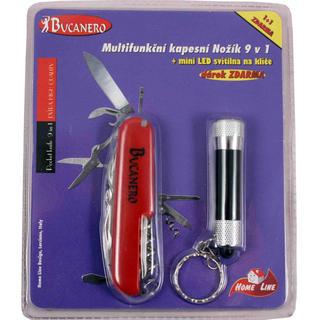 Multifunkčný nožík 9 v 1 + LED svietidlo zadarmo
