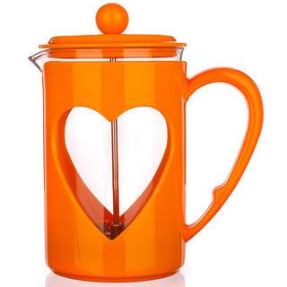 Skleněná konvice na kávu 800 ml Darby, BANQUET oranžová