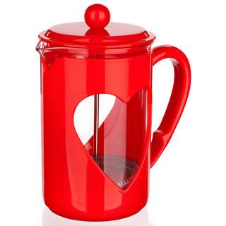 Sklenená kanvica na kávu 800 ml Darby, BANQUET červená