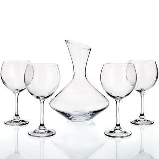 5 dielny set na víno Crystal, BANQUET