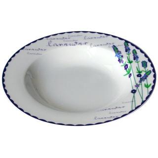Keramický hlboký tanier Levanduľa 21,5 cm