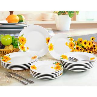 Banquet porcelánová sada tanierov SUNNY 18 ks