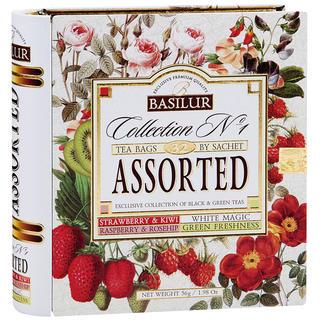 Basilur tea - Kniha Variácia kombi 32 sáčkov