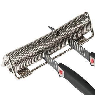 Chrómový stojan na nože - pružina