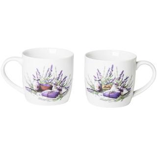 Keramické hrnčeky 360 ml Lavender, BANQUET