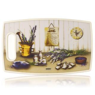 Banquet Plastová doska na krájanie LAVENDER 36 x 22 cm