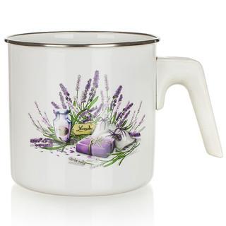 Smaltovaný Mliekovar Lavender 1,2 l, BANQUET