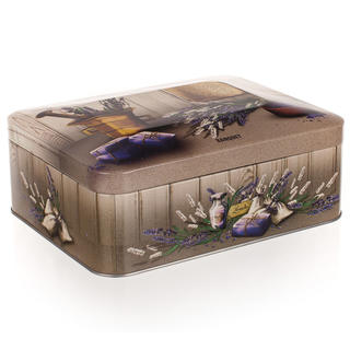 Plechovka-box na čaj Lavender, BANQUET