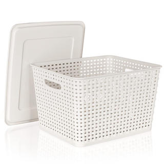 Plastový úložný box s vekom, BANQUET
