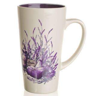 Keramický hrnček vysoký 450 ml Lavender, BANQUET