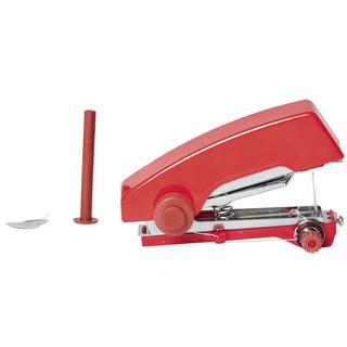 Mini ručný šijací stroj