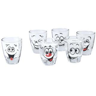 Sklenené poháre HUMOR 6 ks