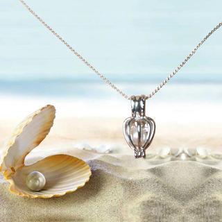 Dámska retiazka s príveskom s pravou perlou