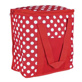 Chladiaca taška 20 l červená bodka