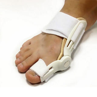 Pomôcka na zmiernenie vybočujúceho palca