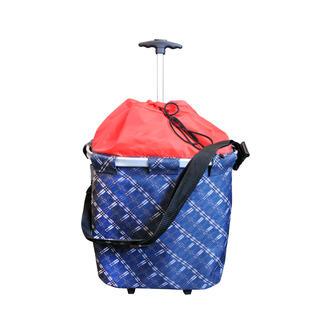 Nákupná taška na kolieskach s madlom