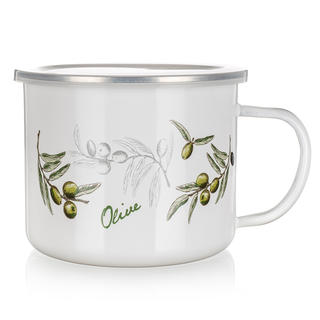 Smaltovaný hrnček 0,5 l Olives, BANQUET