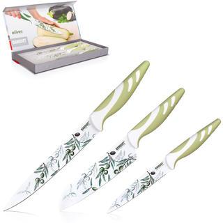 Nepriľnavé kuchynské nože Olives, BANQUET