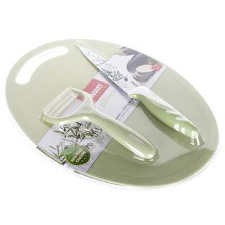 Banquet Sada noža, škrabky a lopárika OLIVES