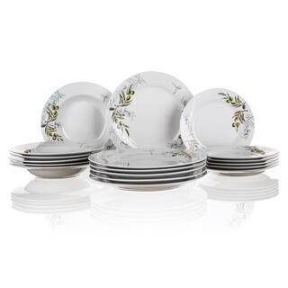 Porcelánové taniere Olives 18 dielov, BANQUET