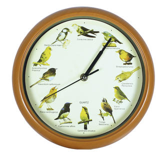 Hodiny so zvukmi vtáčikov