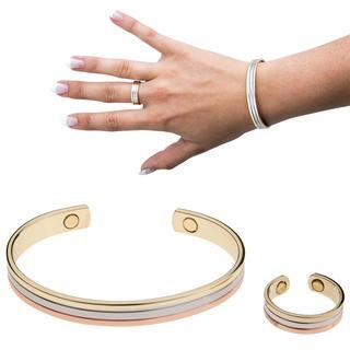Magnetický náramok s prstienkom