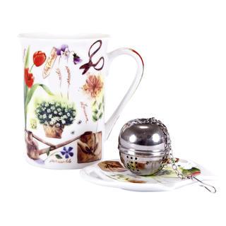 Keramická čajová súprava Garden