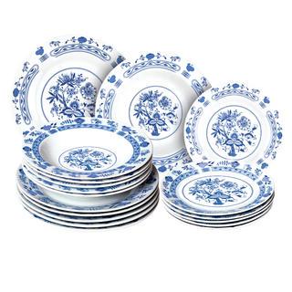 Banquet porcelánová sada tanierov ONION 18 ks