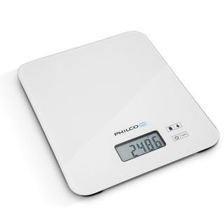 Kuchynská váha Philco s LCD displejom biela