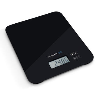 Kuchynská váha Philco s LCD displejom čierna