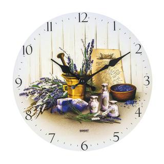 Nástenné hodiny Levanduľa, BANQUET