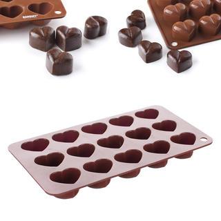 Silikónová forma na čokoládu Srdiečka, BANQUET