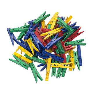 Plastové štipce na bielizeň 50 kusov