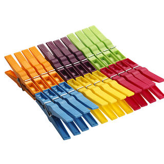 Plastové štipce na bielizeň EXTRA 24 kusov