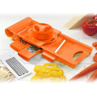 Multifunkčné strúhadlo 5v1 Culinaria, BANQUET oranžové