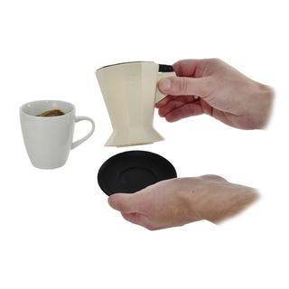 Silikónový lievik a filter na kávu