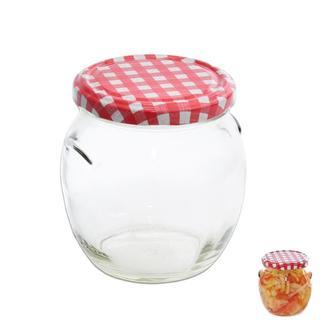 Zaváracie poháre s viečkom Karo 0,5 l