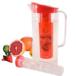 Plastový džbán s vložkou na ľad a ovocie