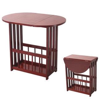 Skladací stolík s priehradkou na tlačoviny