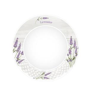 Keramický dezertný tanier Levanduľa