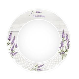 Keramický jedálenský tanier Levanduľa