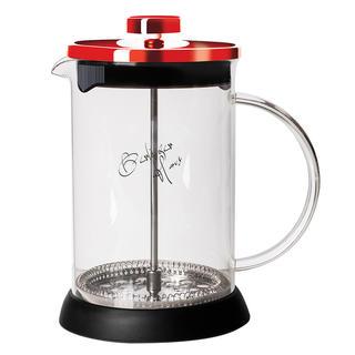 Kanvička na čaj a kávu French Press Burgundy Metallic Line 350 ml