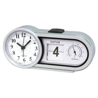 Stolové hodiny s dátumom a teplotou