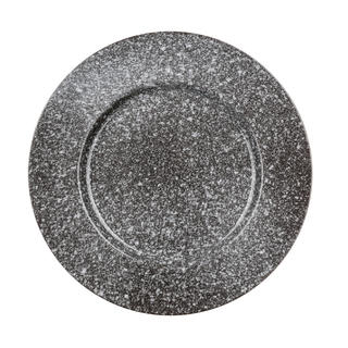 Keramické taniere plytké GRANITE 6 ks, BANQUET