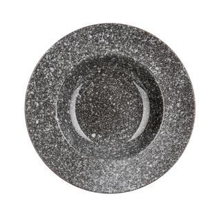 Keramické taniere hlboké GRANITE 6 ks, BANQUET